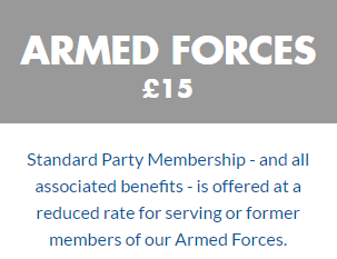 Armed Forces Membership Price